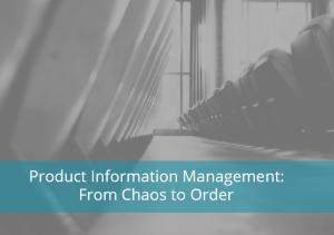 Product Information Management Webinar