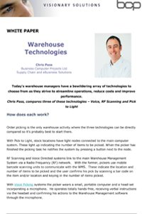 Warehouse Technologies